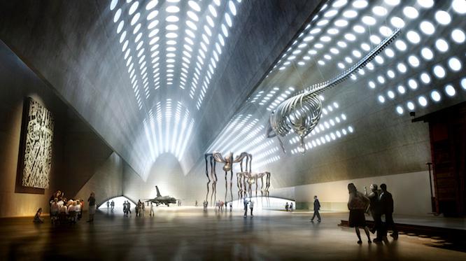 MOMA, WARSAW: HUGE HALL